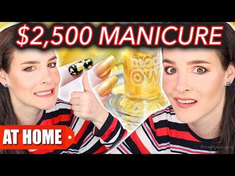 25 Manicure Vs. 2 500 Manicure DIY at Home