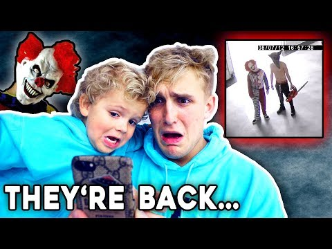 THE KILLER CLOWNS CAME BACK.. **SECURITY FOOTAGE**