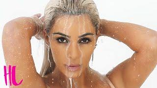 Kim Kardashian Showers In Milk For 'Milf Money' Music Video
