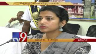 Lady Collector Amrapali wins hearts in Telangana - TV9