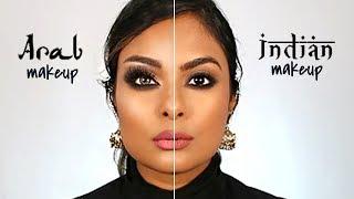 Arab Makeup Vs. Indian Makeup