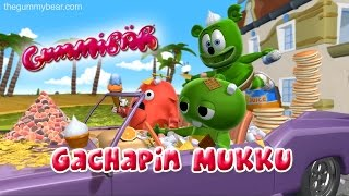 Gummibär Gachapin Mukku Japanese Animated Music Video ガチャピン