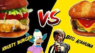 ℗ Krusty Burger VS Big Kahuna    SuperPilopi