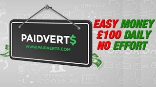 How to Earn Money in Paidverts Daily $50-$200