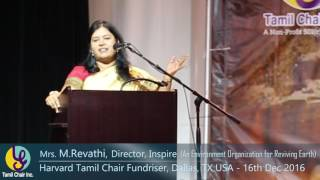 As a Tamil, you cannot miss this Video - Mrs. Revathi speech