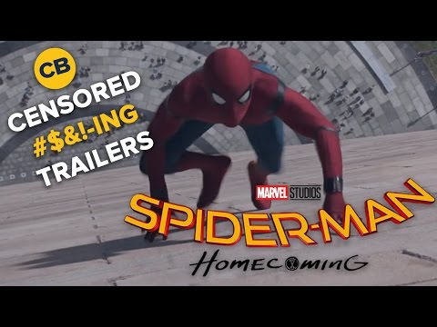 Censored Trailers SPIDER MAN HOMECOMING