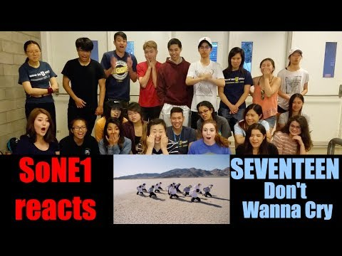 SEVENTEEN (세븐틴) - Don't Wanna Cry (울고 싶지 않아) M/V Reaction by SoNE1