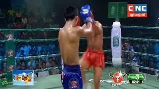 Khmer Boxing ឃុន ឌីម៉ា ️ប៉ះ  ក្រៀងក្រៃ (ថៃ) , Khmer Boxing, SeaTv Boxing