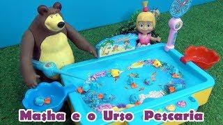 Masha e o Urso PESCARIA -  Masha and The Bear FISHING #MASHA #MASHAEOURSO