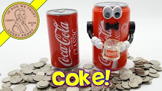 Coca Cola Musical & Animated Kids Toy Banks - Have A Coke!