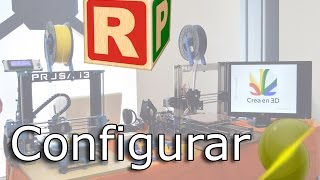 Programa para usar la impresora 3D | Repetier Host | configurar Slic3r