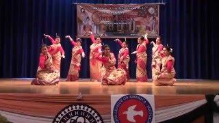 Bihu by AAMI girls on India Day 2016 Michigan