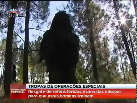 Tropas de Operações Especiais Rangers Lamego Exército Português Reportagem SIC 2011