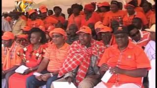 Raila aonyesha dalili ODM kwenda debeni 2017 kivyake, Narok