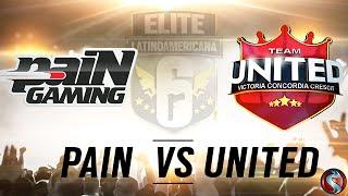 PAIN vs. TEAM UNITED - FINAL #EliteSix - Season One