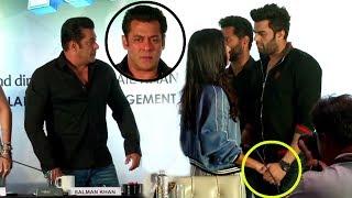 Salman Khan Gets ANGRY On Katrina Kaif As She FLIRTS With Manish Paul At Da-Bangg Tour Pune