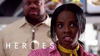 Monica's Powers // Heroes S02 E04 - Kindness Of Strangers