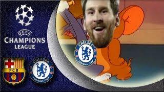 Barcelona VS Chelsea : 3-0 😱 Messi The God just got his revenge 🙏 Champions League 14/03/2018 HD
