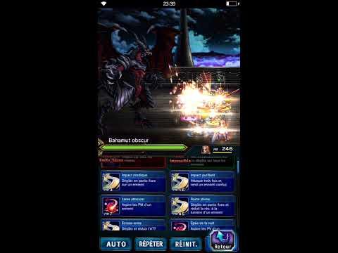 FFBE - Vision de Bahamut - EX : [HS] 2 Chizuru 2 Firion 1 Orlandeau OS
