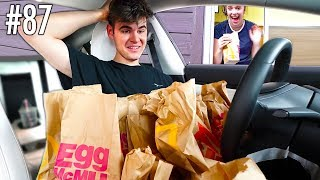 Going To The SAME Drive Thru 100 Times - Challenge