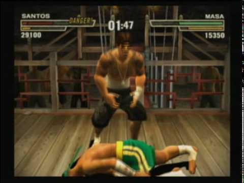 Def Jam Fight for NY Santos vs Masa
