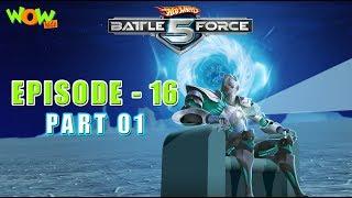 Hot Wheels Battle Force 5 - Glitchin - Episode 16-P1- in Hindi