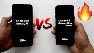 Samsung Galaxy On6 Vs J8 SpeedTest And Camera Comparison I Hindi