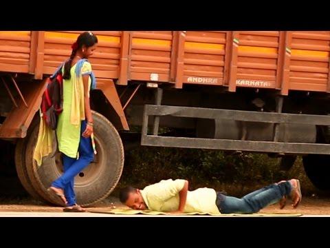 Sleeping Mat on The Road Prank 2016  | Indian Pranks Very Funny | Naati Tomato Tv