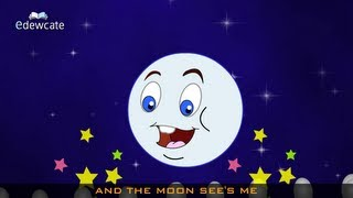 Edewcate english rhymes - I see the moon nursery rhyme