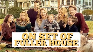 Fuller House Backstage with Messitt Twins