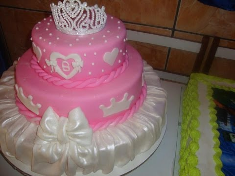 Como montar bolo de andares Miriam santos