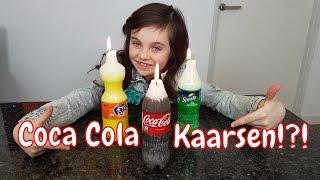 DIY - Zelf Coca Cola, Fanta en Sprite kaarsen maken - Bibi (Nederlands)