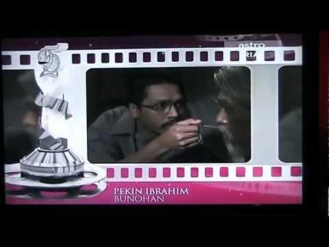 Faizal Hussein Best Actor FFM 25 ( Malaysian Film Festival ) - Film BUNOHAN