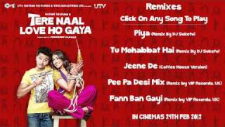 Tere Naal Love Ho Gaya Remix Songs Audio Jukebox   Full Songs Non Stop