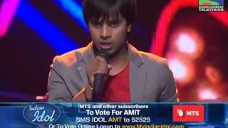 Amit Kumar singing ' Tere naam '   Best Performances   Episode 21   Season 6   Best of Indian Idol   Indian Idol