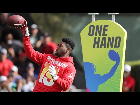 Best Hands 2019 Pro Bowl Skills Showdown NFL Highlights