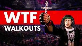 10 Most WTF Walkouts in MMA