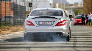 700HP RENNtech Mercedes CLS63 AMG BiTurbo - LOUD Revs, Crackles, Burnouts & Accelerations !