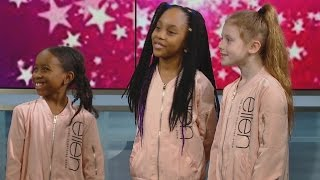 Toronto dance trio talks to CBC Morning Live about wowing the Ellen show