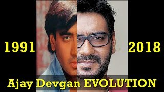 Ajay Devgan Evolution From 1991 To 2018-Ajay Devgan