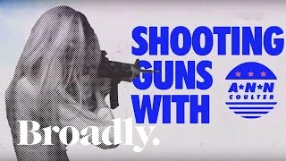 Shooting Guns with Ann Coulter