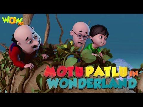 Motu Patlu In Wonderland Part 01| Movie| Movie Mania - 1 Movie Everyday | Wowkidz