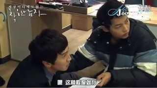 【中字】善良的男人_宋仲基惡搞李光洙的拍攝花絮28