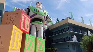 Disney's All Star Movies Resort Tour | Hotel Grounds Walking Tour, Food & Pool Locations!