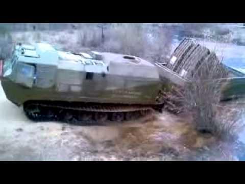 Xxx Mp4 Russian Tank Tracked Transporter Crossing River Heavy Load 3gp Sex