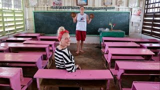Swedish Girl Goes To School In The Philippines