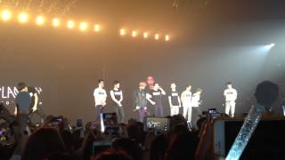 [FANCAM] 150620- EXO'LuXion in BKK - Suho tell EXO-L Thailand jang