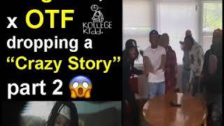 "Lil Durk x King Von x OTF dropping a ""Crazy Story"" Part 2 Video"