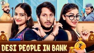 देसी People in बैंक II Nazarbattu II Pawan Yadav