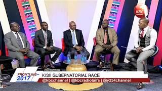 Kisii Gubernatorial Debate on #TheFrontLine